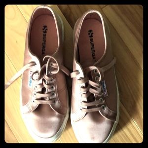 New Superga Pink Shoes